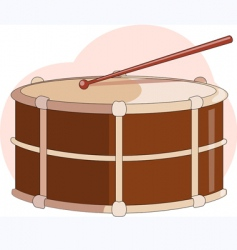 small drums vector image