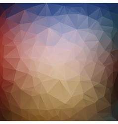 Awesome triangle in graphics vector