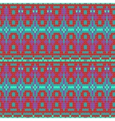 Color knitted seamless pattern 10 eps vector