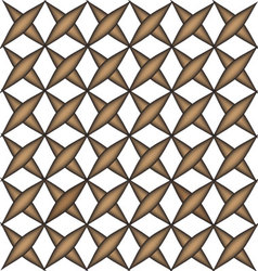 Geometric square box brown pattern vector