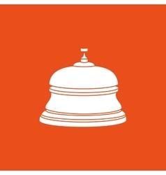 Hotel bell design vector