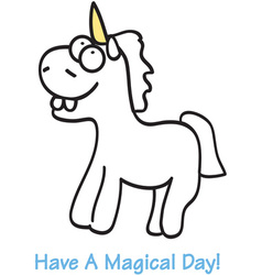 A magical day vector