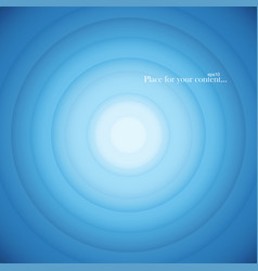 Blue round abstract background vector