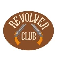 Logo shooting club vector