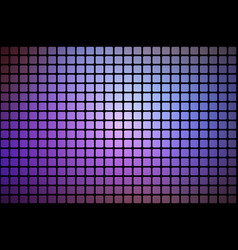 Purple lilac pink abstract rounded mosaic vector
