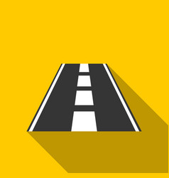 Road icon of for web and vector