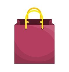 shopping bag gift vector image