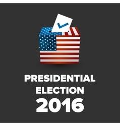 Presidential election usa 2016 vector