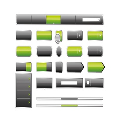 Web elemets collection vector