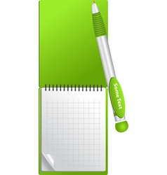 Notebook object vector