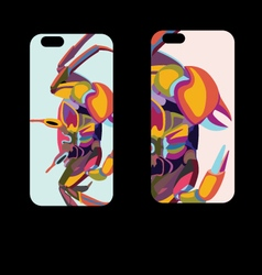 Iphone 6s cover design vector