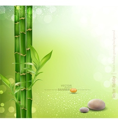 meditative oriental background vector image