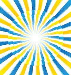Blue and Yellow pattern vector image vector image