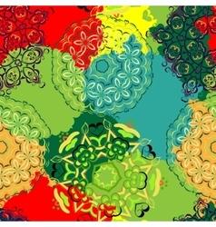 mandala pattern Oriental vector image