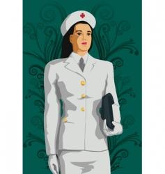 nurse vector image vector image