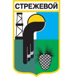 Strezhevoy City vector image vector image