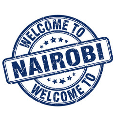 Welcome to nairobi vector