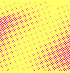 Bright pop art style childish dotted card layout vector
