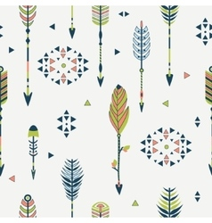 seamless pattern with arrows vector image