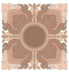 Thai pattern graphic vector