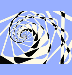 abstract duotone light twirl background vector image