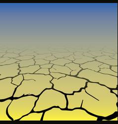 Gradient cracks background vector