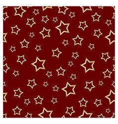 Pattern STARS R vector image