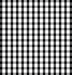 Tablecloth cotton in black and white color vector