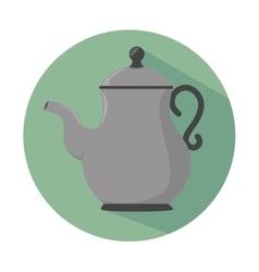 teapot icon design vector image