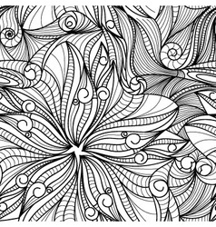 drawing flawers texture vector image