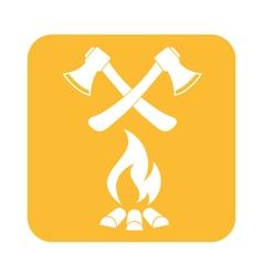 Ax icon vector