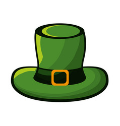 Hat accessory st patrick vector