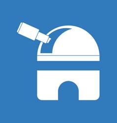Icon telescope station vector