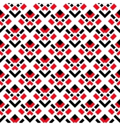 Abstract white red black seamless pattern vector