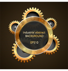 Industrial abstract background vector