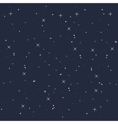 Night star sky isolated icon design vector