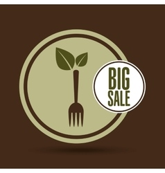 Big sale natural food healthy vector