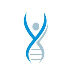 Dna icon logo image vector