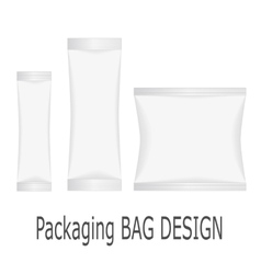 White Blank Foil vector image