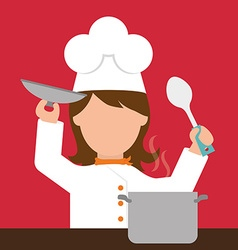 Chef design vector