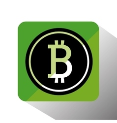 Bitcoin virtual money vector