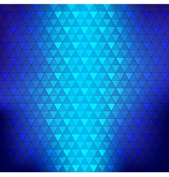 Abstract background blue continuous triangle vector image
