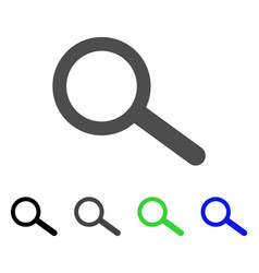 find tool flat icon vector image vector image