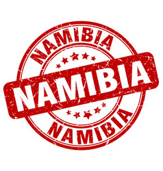 Namibia stamp vector