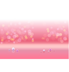 Pink shiny sparkles vector