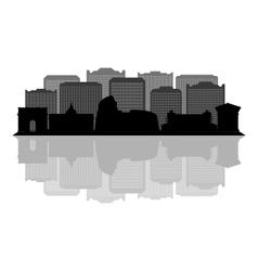rome skyline vector image vector image