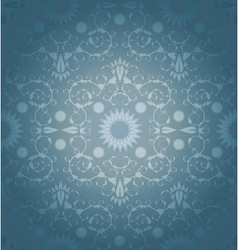 Baroque geometric background vector image vector image