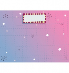 blue and pink background vector image vector image
