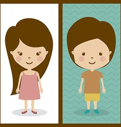 Children design vector image vector image