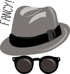 Fancy hat vector